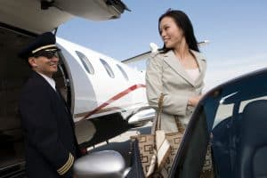 pilot and businesswoman